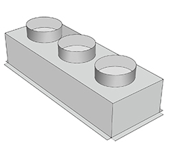 Plennum Box / Multi Spigot Plenum Box